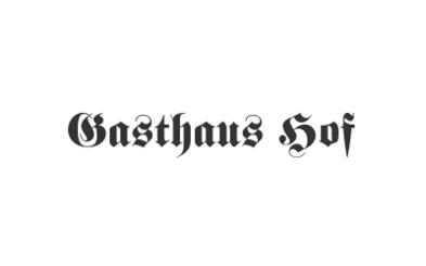 Logo Gasthaus Hof